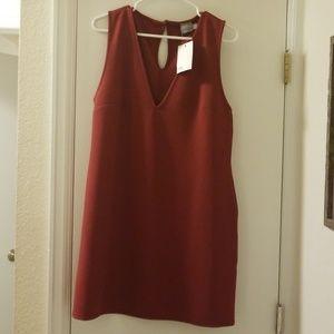 NWT Asos maroon dress